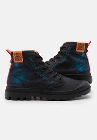 Palladium - PAMPA UNISEX - Lace-up ankle boots - black - 5