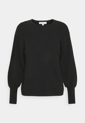 BALLOON SLEEVE JUMPER - Jumper - black