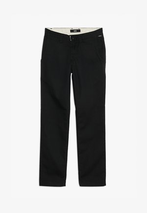 BY AUTHENTIC CHINO STRETCH BOYS - Chino kalhoty - black