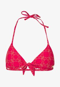 Guess - REMOVABLE PADDED - Bikini top - real red - 3