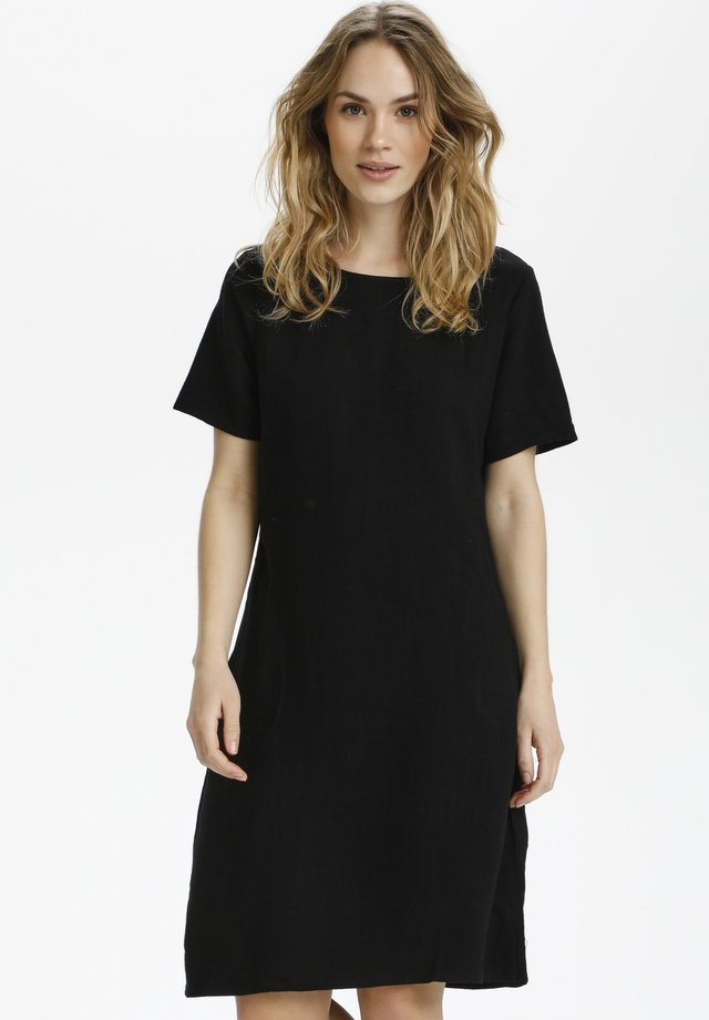 KALINY DRESS - Korte jurk - black deep
