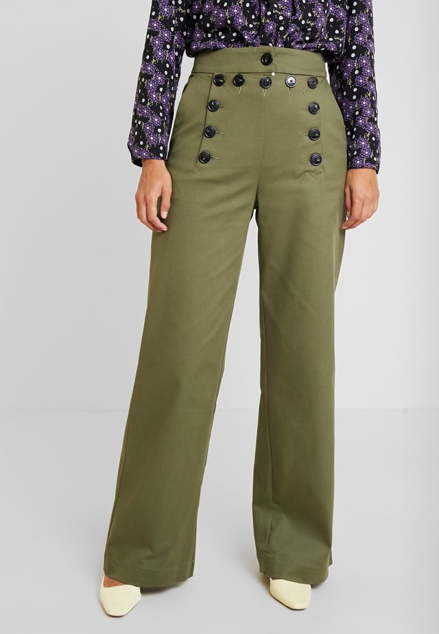 SAILOR PANTS - Pantalones - winter moss