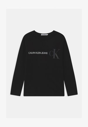 REFLECTIVE LOGO  - Long sleeved top - black