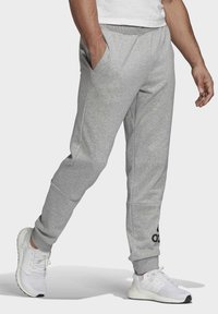 adidas Performance - BADGE OF SPORT FRENCH TERRY JOGGERS - Tracksuit bottoms - grey - 2