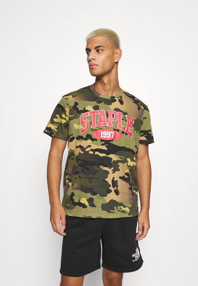 HEAVYWEIGHT LOGO TEE UNISEX - T-shirts med print - green