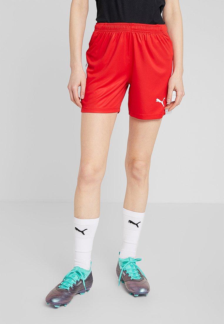 Puma - LIGA  - Pantalón corto de deporte - red/white