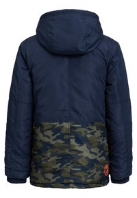 WE Fashion - MET COLOURBLOCK - Winter jacket - dark blue - 3