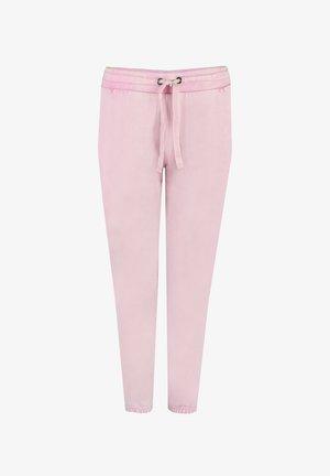 Tracksuit bottoms - mottled pink