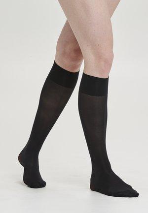 2-PACK - Knästrumpor - black