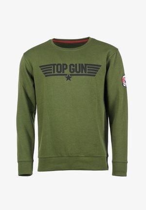 Sweater - olive
