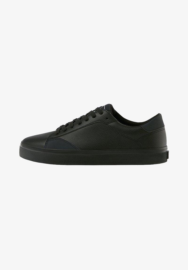 PULL&BEAR - Trainers - black