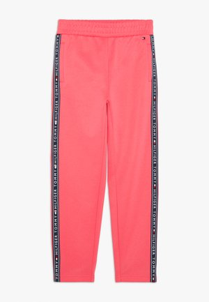 TAPE TRACKPANTS - Tracksuit bottoms - pink