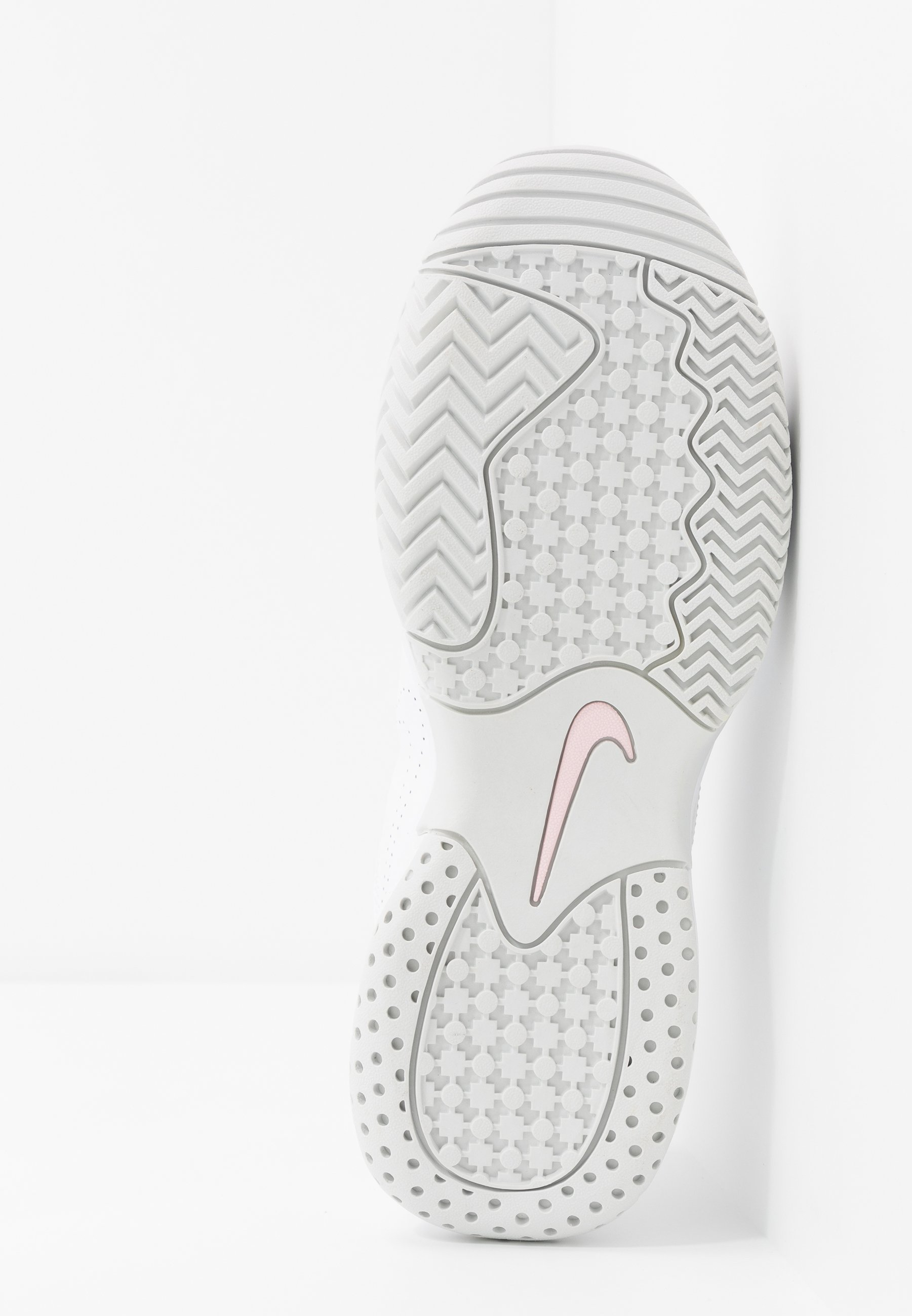 Ogromna Niespodzianka Obuwie damskie Nike Performance COURT LITE 2 Buty tenisowe uniwersalne white/photon dust/pink foam