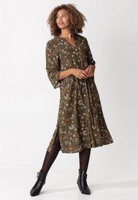 Indiska - TASANEE - Day dress - green - 0