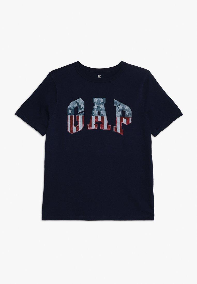 GAP - BOYS FLAG TEE - T-shirts print - elysian blue
