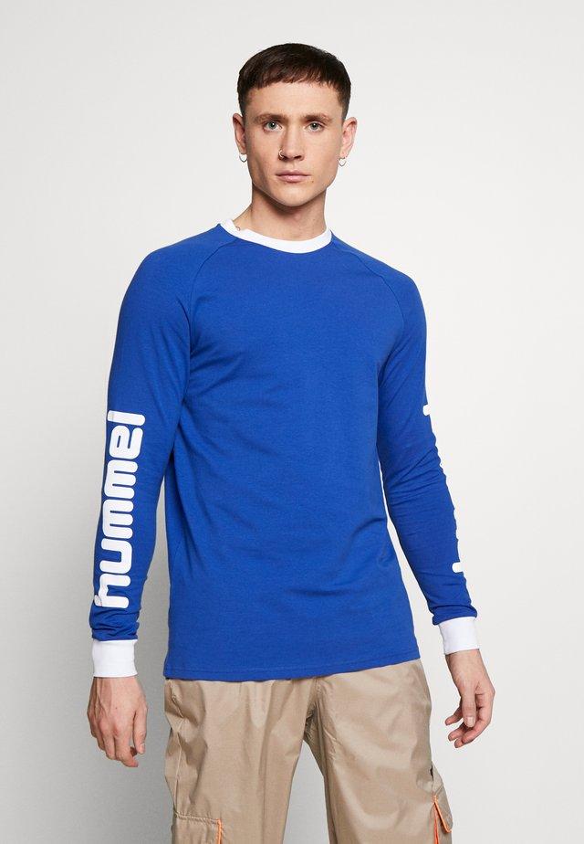 HMLBAY - Long sleeved top - mazarine blue