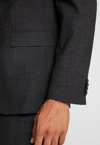 Calvin Klein Tailored - GRID CLASSIC SUIT - Suit - black - 6
