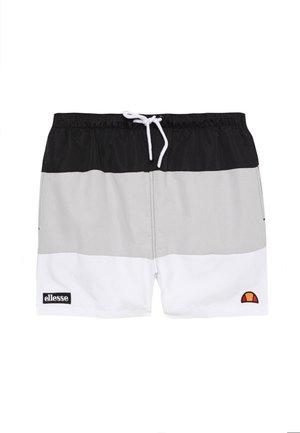 CIELO - Shorts da mare - black/grey/white
