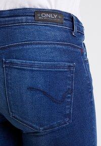 ONLY - ONLFCARMEN - Jeans Skinny Fit - dark blue denim - 5
