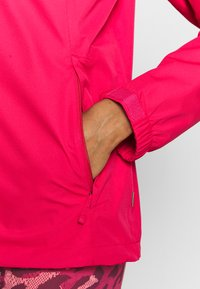 Vaude - WOMANS ESCAPE LIGHT JACKET - Waterproof jacket - bramble - 4