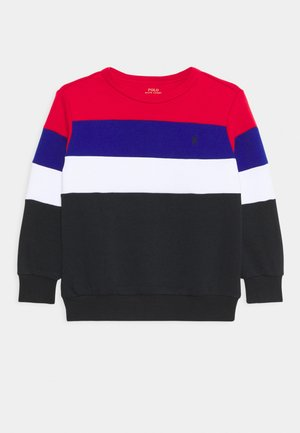 Sweatshirt - red/multi