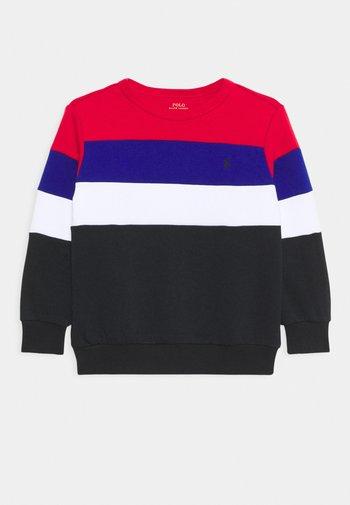 Sweater - red/multi