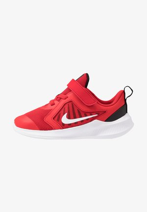 DOWNSHIFTER 10 - Neutral running shoes - universe red/white/black