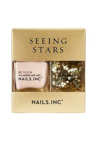Nails Inc - SEEING STARS - Nail set - glitter/pink - 1