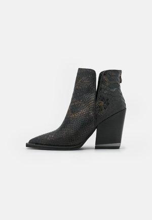 High heeled ankle boots - arizona black