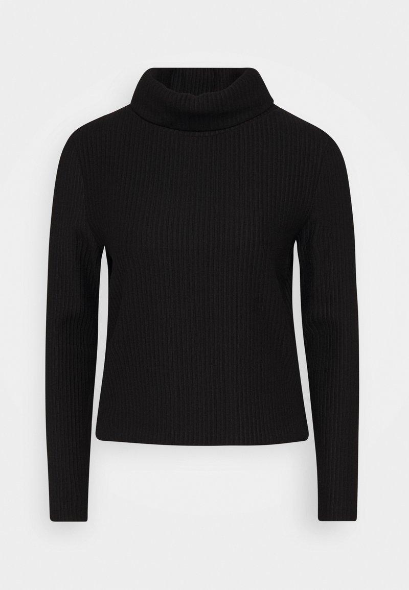 Opus - SOMAN - Pullover - black