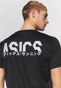 ASICS - KATAKANA  - T-Shirt print - performance black - 3