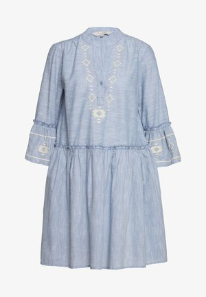 SOPHIA - Day dress - dusky blue