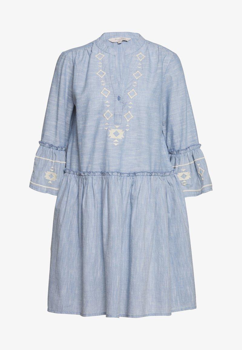 Part Two - SOPHIA - Day dress - dusky blue