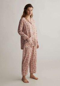 OYSHO - Pyjamahousut/-shortsit - rose - 1