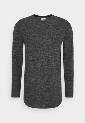 JCOOZIL TEE CREW NECK - Pullover - black melange
