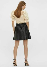 YAS - YASRORI - A-line skirt - black - 2