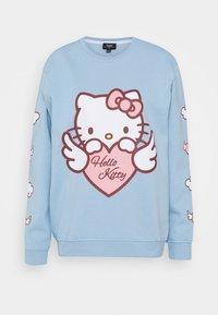 NEW girl ORDER - HELLO HEART - Sweatshirt - blue - 5