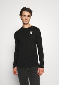 11 DEGREES - CORE - Long sleeved top - black - 0