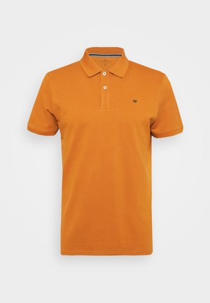 WITH CONTRAST - Polo shirt - spicy pumpkin orange