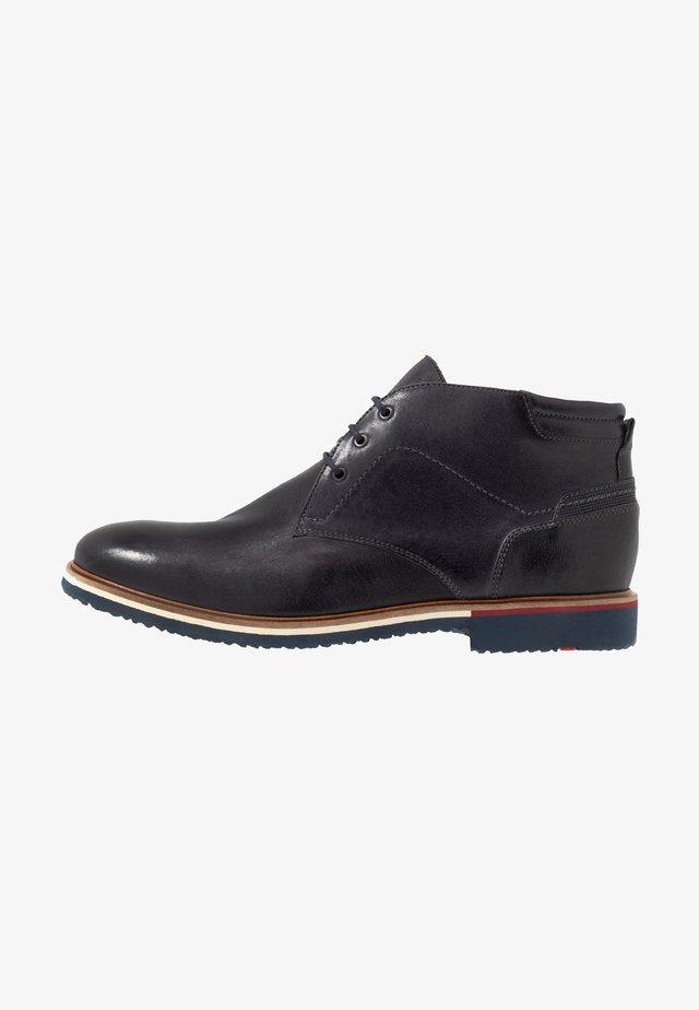 FABIO - Zapatos con cordones - midnight/ocean