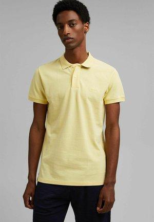 SOLID - Polo shirt - light yellow