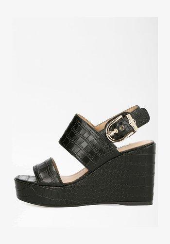 NOLITA - Platform sandals - schwarz