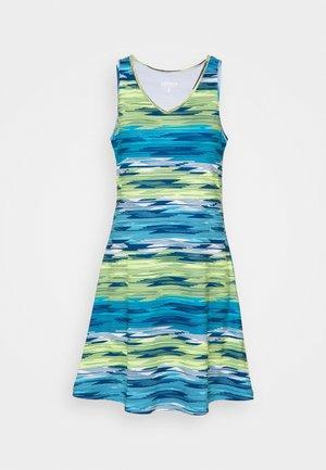 MILLIS - Žerzejové šaty - aqua