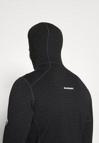 Mammut - ACONCAGUA - Zip-up hoodie - black - 3