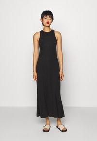 Weekday - TELMA DRESS - Maxi dress - black - 0