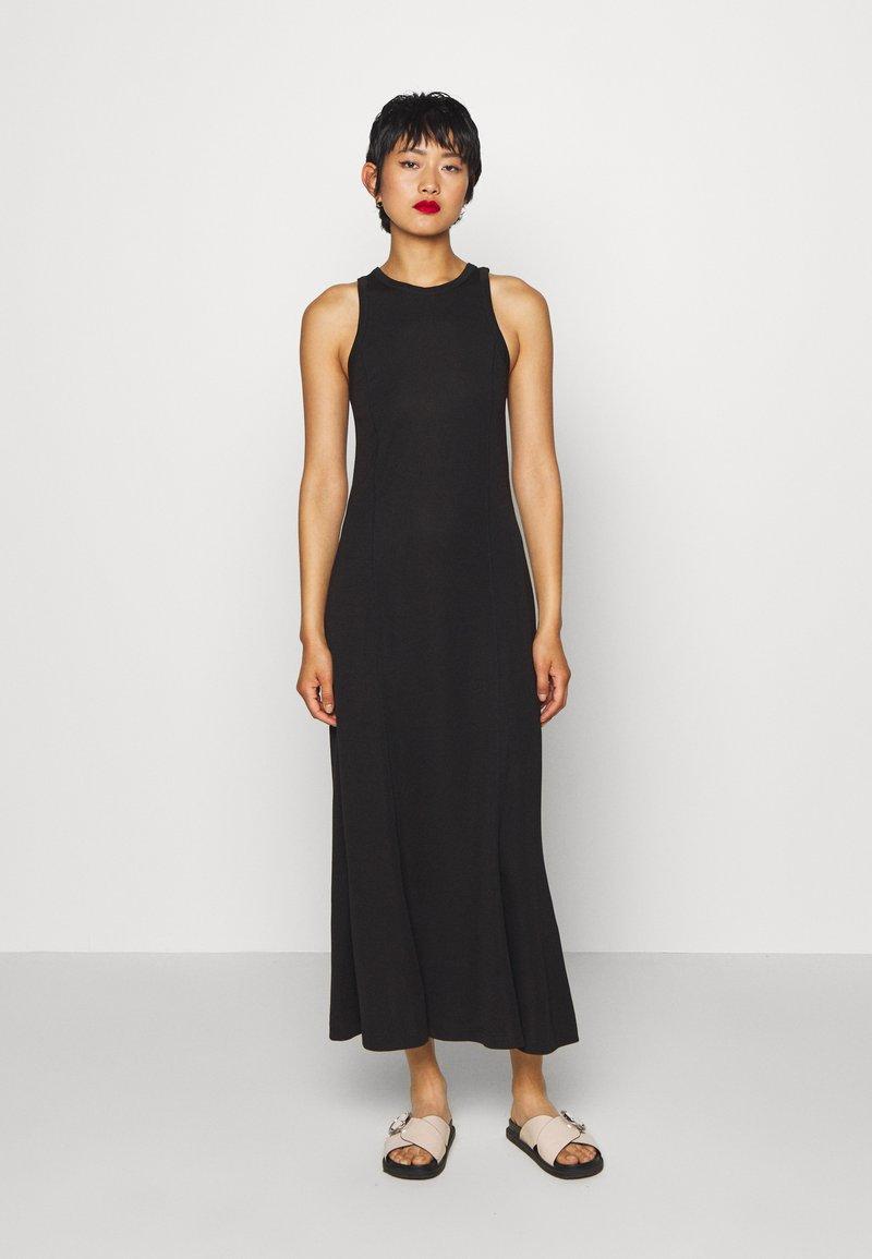 Weekday - TELMA DRESS - Maxi dress - black