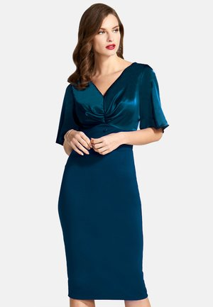 Robe fourreau - woodland teal