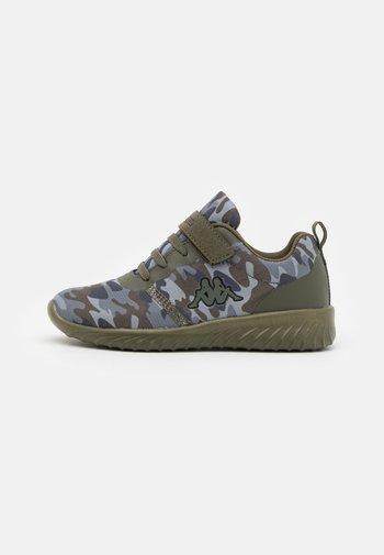 UNISEX - Zapatillas de entrenamiento - dark green/multicolor