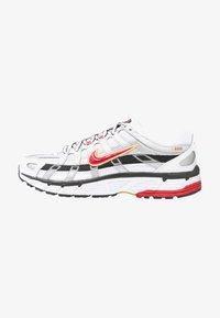 P-6000 - Sneakers laag - white/varsity red/metallic platinum