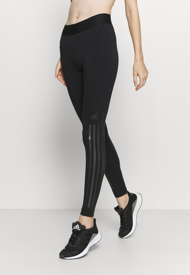 adidas Performance - GLAM - Leggings - black